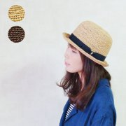 <img class='new_mark_img1' src='https://img.shop-pro.jp/img/new/icons20.gif' style='border:none;display:inline;margin:0px;padding:0px;width:auto;' />RAFFIA BOWLER HAT