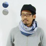 STRIPE COTTON SNOOD