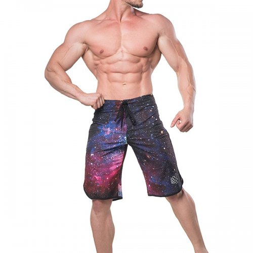 【50%OFF】【即お届け】【JED NORTH】MEN'S PHYSIQUE POSING BOARD SHORTS(GALAXY)<img class='new_mark_img2' src='https://img.shop-pro.jp/img/new/icons24.gif' style='border:none;display:inline;margin:0px;padding:0px;width:auto;' />