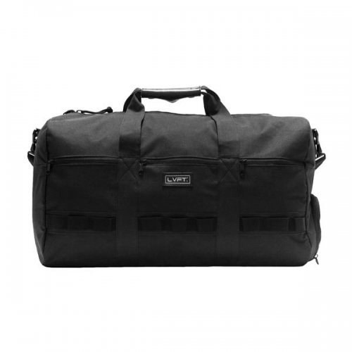 【即お届け】【LIVE FIT】【LVFT】Tactical Duffel Bag(Black)<img class='new_mark_img2' src='//img.shop-pro.jp/img/new/icons7.gif' style='border:none;display:inline;margin:0px;padding:0px;width:auto;' />
