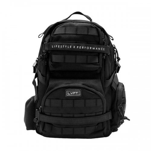 【即お届け】【LIVE FIT】【LVFT】Tactical Backpack(Black)<img class='new_mark_img2' src='//img.shop-pro.jp/img/new/icons7.gif' style='border:none;display:inline;margin:0px;padding:0px;width:auto;' />