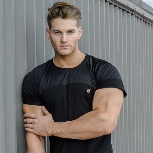 【即お届け】【JED NORTH】Core Mesh T-Shirt (Black)<img class='new_mark_img2' src='https://img.shop-pro.jp/img/new/icons7.gif' style='border:none;display:inline;margin:0px;padding:0px;width:auto;' />