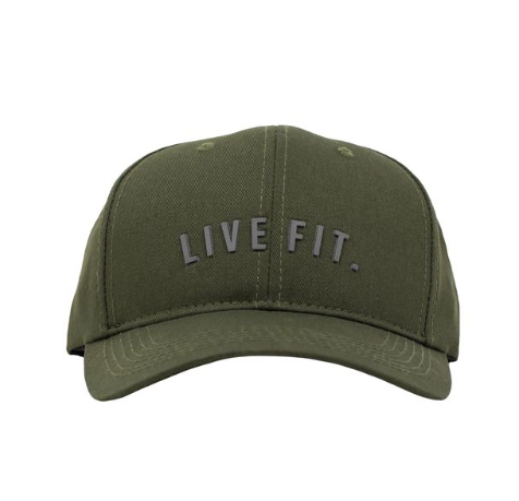 【即お届け】【LIVE FIT】【LVFT】Premium Structured Live Fit. Cap(Olive)<img class='new_mark_img2' src='//img.shop-pro.jp/img/new/icons7.gif' style='border:none;display:inline;margin:0px;padding:0px;width:auto;' />