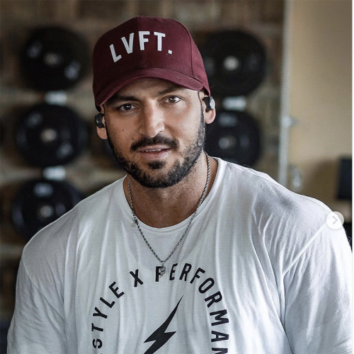 【即お届け】【LIVE FIT】【LVFT】Premium Structured LVFT. Cap(Burgundy)<img class='new_mark_img2' src='//img.shop-pro.jp/img/new/icons7.gif' style='border:none;display:inline;margin:0px;padding:0px;width:auto;' />