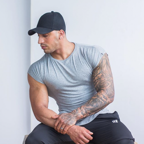 【即お届け】【JED NORTH】Evolve Capped Sleeve Tee  (Gray)<img class='new_mark_img2' src='//img.shop-pro.jp/img/new/icons7.gif' style='border:none;display:inline;margin:0px;padding:0px;width:auto;' />