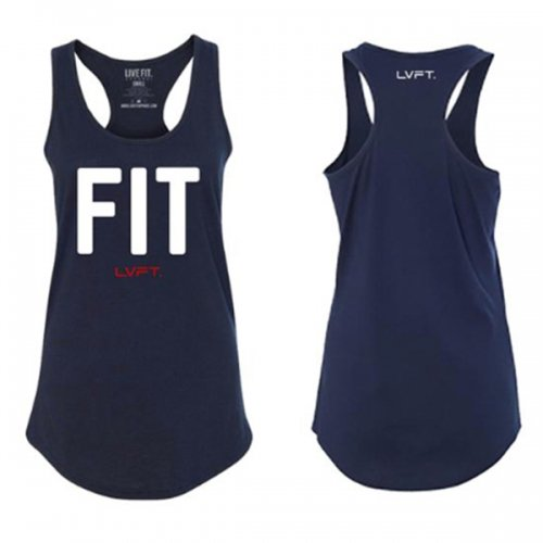 【即お届け】【LIVE FIT】【LVFT】Fit Racerback Tank(Midnight Navy)<img class='new_mark_img2' src='//img.shop-pro.jp/img/new/icons11.gif' style='border:none;display:inline;margin:0px;padding:0px;width:auto;' />