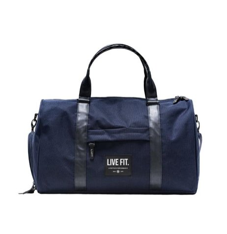 【即お届け】【LIVE FIT】【LVFT】Vector Duffel Bag( Navy)<img class='new_mark_img2' src='//img.shop-pro.jp/img/new/icons50.gif' style='border:none;display:inline;margin:0px;padding:0px;width:auto;' />