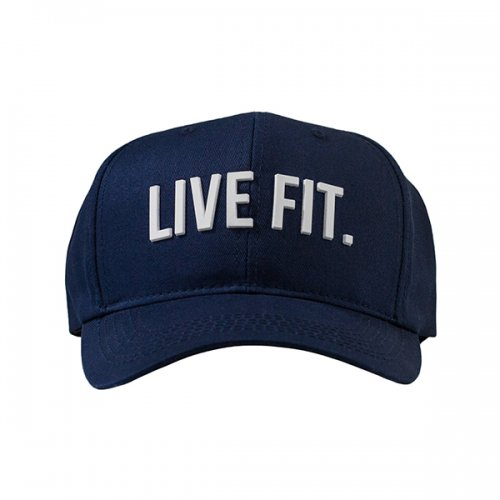 【即お届け】【LIVE FIT】【LVFT】Original Premium Structured Cap(Navy/White)<img class='new_mark_img2' src='//img.shop-pro.jp/img/new/icons7.gif' style='border:none;display:inline;margin:0px;padding:0px;width:auto;' />