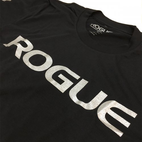 【即お届け】【ROGUE】ROGUE BASIC SHIRT(Black/Silver)<img class='new_mark_img2' src='//img.shop-pro.jp/img/new/icons7.gif' style='border:none;display:inline;margin:0px;padding:0px;width:auto;' />