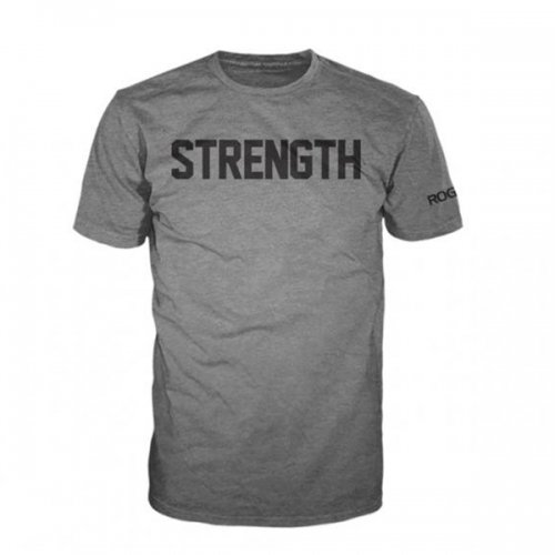 【即お届け】【ROGUE】ROGUE STRENGTH SHIRT(Gray)<img class='new_mark_img2' src='//img.shop-pro.jp/img/new/icons7.gif' style='border:none;display:inline;margin:0px;padding:0px;width:auto;' />
