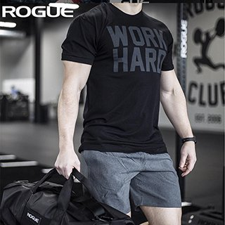 【即お届け】【ROGUE】ROGUE WORK HARD - MEN'S(Black)<img class='new_mark_img2' src='//img.shop-pro.jp/img/new/icons7.gif' style='border:none;display:inline;margin:0px;padding:0px;width:auto;' />