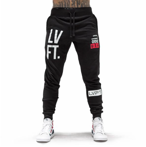 【即お届け】【LVFT】【LIVE FIT】Stacked Joggers(BlacK)<img class='new_mark_img2' src='https://img.shop-pro.jp/img/new/icons7.gif' style='border:none;display:inline;margin:0px;padding:0px;width:auto;' />