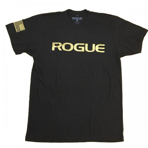【即お届け】【ROGUE】ROGUE BASIC SHIRT(Black/Gold)<img class='new_mark_img2' src='//img.shop-pro.jp/img/new/icons7.gif' style='border:none;display:inline;margin:0px;padding:0px;width:auto;' />