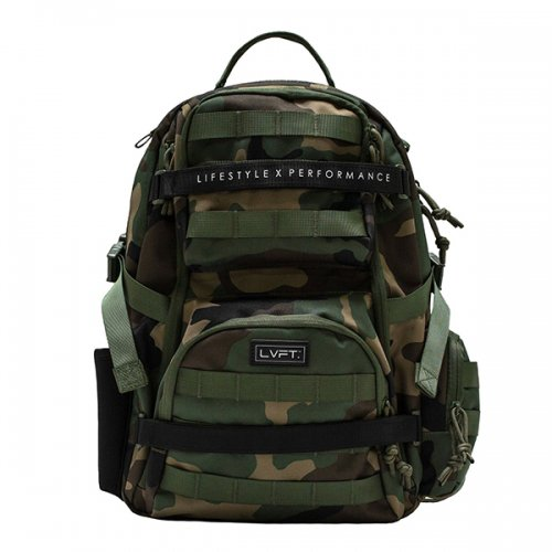 【即お届け】【LIVE FIT】【LVFT】Tactical Backpack(Green Camo)<img class='new_mark_img2' src='//img.shop-pro.jp/img/new/icons7.gif' style='border:none;display:inline;margin:0px;padding:0px;width:auto;' />