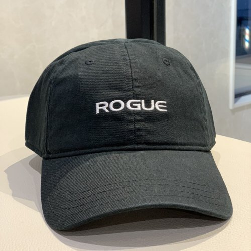 【即お届け】【ROGUE】ROGUE VINTAGE SELF STRAP HAT(Black)<img class='new_mark_img2' src='https://img.shop-pro.jp/img/new/icons7.gif' style='border:none;display:inline;margin:0px;padding:0px;width:auto;' />