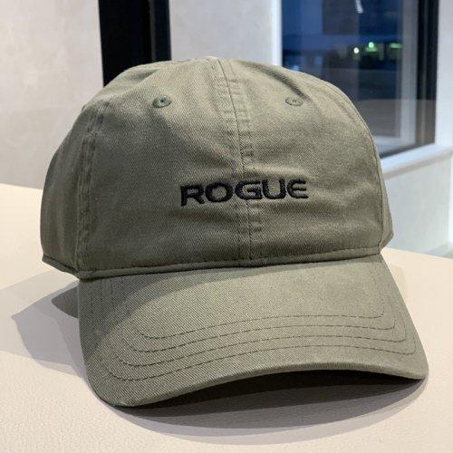 【即お届け】【ROGUE】ROGUE VINTAGE SELF STRAP HAT(Olive Green)<img class='new_mark_img2' src='https://img.shop-pro.jp/img/new/icons7.gif' style='border:none;display:inline;margin:0px;padding:0px;width:auto;' />