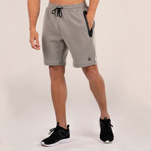 【即お届け】【RYDERWEAR】ARMOUR TRACK SHORTS(GREY MARLE)<img class='new_mark_img2' src='https://img.shop-pro.jp/img/new/icons7.gif' style='border:none;display:inline;margin:0px;padding:0px;width:auto;' />