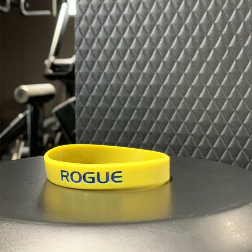 【即お届け】【ROGUE】ROGUE SILICONE BRACELET(YELLOW/BLUE)<img class='new_mark_img2' src='//img.shop-pro.jp/img/new/icons7.gif' style='border:none;display:inline;margin:0px;padding:0px;width:auto;' />