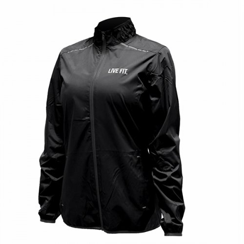【50%OFF】【即お届け】【LIVE FIT】【LVFT】Flash Track Windbreaker(Black)<img class='new_mark_img2' src='https://img.shop-pro.jp/img/new/icons24.gif' style='border:none;display:inline;margin:0px;padding:0px;width:auto;' />
