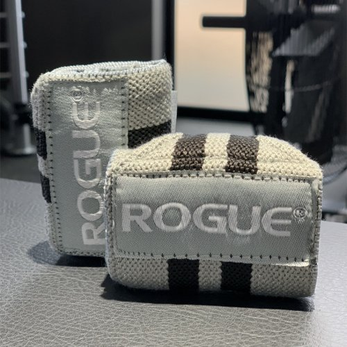 【即お届け】【ROGUE】ROGUE WRIST WRAPS(Gray & Black)12インチ<img class='new_mark_img2' src='https://img.shop-pro.jp/img/new/icons7.gif' style='border:none;display:inline;margin:0px;padding:0px;width:auto;' />
