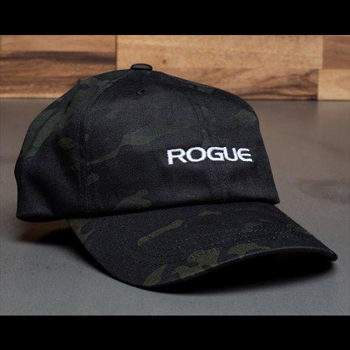 【即お届け】【ROGUE】ROGUE  DAD HAT(Black Camo)<img class='new_mark_img2' src='https://img.shop-pro.jp/img/new/icons7.gif' style='border:none;display:inline;margin:0px;padding:0px;width:auto;' />