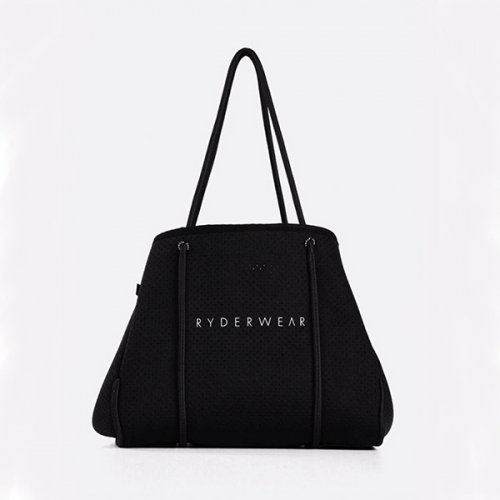 【即お届け】【RYDERWEAR】NEOPRENE TOTE BAG(BLACK)<img class='new_mark_img2' src='https://img.shop-pro.jp/img/new/icons11.gif' style='border:none;display:inline;margin:0px;padding:0px;width:auto;' />