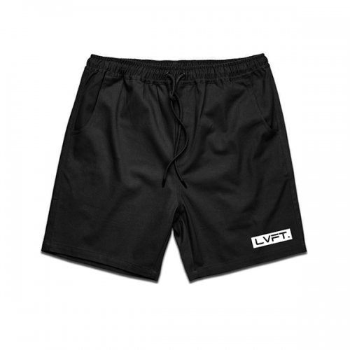 【即お届け】【LIVE FIT】【LVFT】Lifestyle Shorts(Black)<img class='new_mark_img2' src='//img.shop-pro.jp/img/new/icons7.gif' style='border:none;display:inline;margin:0px;padding:0px;width:auto;' />