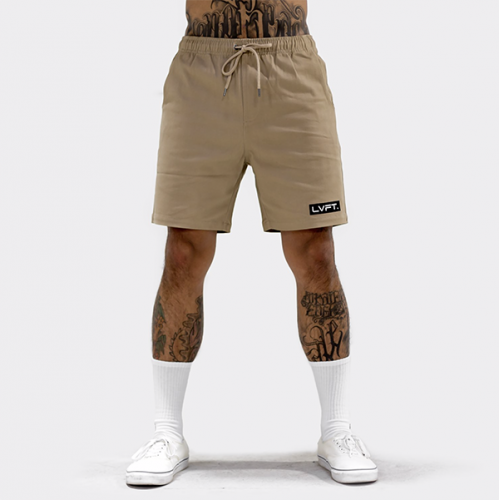 【即お届け】【LIVE FIT】【LVFT】Lifestyle Shorts(Tan)<img class='new_mark_img2' src='//img.shop-pro.jp/img/new/icons7.gif' style='border:none;display:inline;margin:0px;padding:0px;width:auto;' />