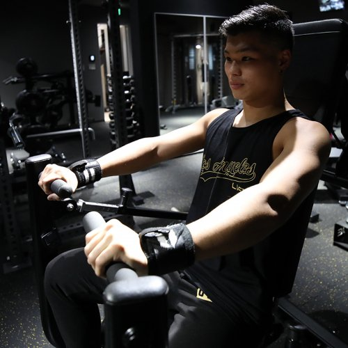 【EXCLUSIVE COLLECTION】【即お届け】【LIVE FIT】【LVFT】LA Tank(Black/Gold )<img class='new_mark_img2' src='https://img.shop-pro.jp/img/new/icons7.gif' style='border:none;display:inline;margin:0px;padding:0px;width:auto;' />