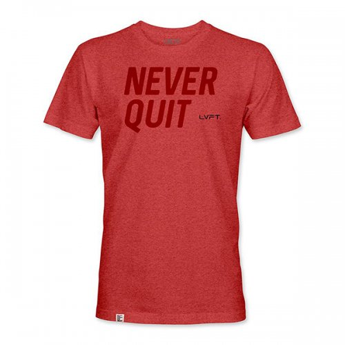 【30%OFF】【即お届け】【LIVE FIT】【LVFT】LVFT Never Quit  (Heather Red)<img class='new_mark_img2' src='https://img.shop-pro.jp/img/new/icons24.gif' style='border:none;display:inline;margin:0px;padding:0px;width:auto;' />