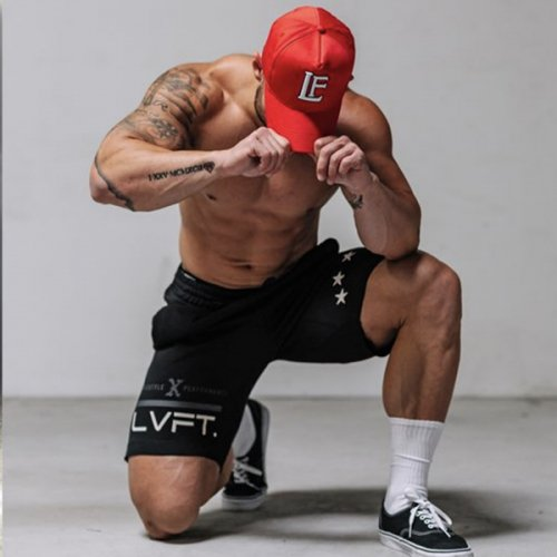 【即お届け】【LIVE FIT】【LVFT】LF Classic Cap(Red)<img class='new_mark_img2' src='//img.shop-pro.jp/img/new/icons7.gif' style='border:none;display:inline;margin:0px;padding:0px;width:auto;' />