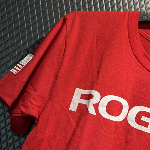 【即お届け】【ROGUE】ROGUE BASIC SHIRT(Red/White)<img class='new_mark_img2' src='https://img.shop-pro.jp/img/new/icons7.gif' style='border:none;display:inline;margin:0px;padding:0px;width:auto;' />