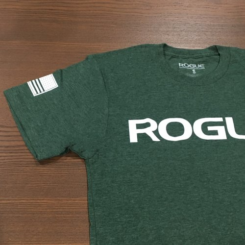 【即お届け】【ROGUE】ROGUE BASIC SHIRT(Forest Green/White)<img class='new_mark_img2' src='https://img.shop-pro.jp/img/new/icons7.gif' style='border:none;display:inline;margin:0px;padding:0px;width:auto;' />