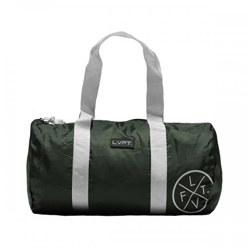 【即お届け】【LIVE FIT】【LVFT】Packable Duffel (Olive)<img class='new_mark_img2' src='https://img.shop-pro.jp/img/new/icons7.gif' style='border:none;display:inline;margin:0px;padding:0px;width:auto;' />