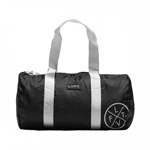 【即お届け】【LIVE FIT】【LVFT】Packable Duffel (Black)<img class='new_mark_img2' src='https://img.shop-pro.jp/img/new/icons7.gif' style='border:none;display:inline;margin:0px;padding:0px;width:auto;' />