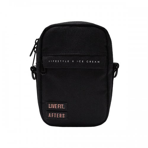 【即お届け】【LIVE FIT】【LVFT】BFS CROSSBODY BAG(Black)<img class='new_mark_img2' src='https://img.shop-pro.jp/img/new/icons7.gif' style='border:none;display:inline;margin:0px;padding:0px;width:auto;' />