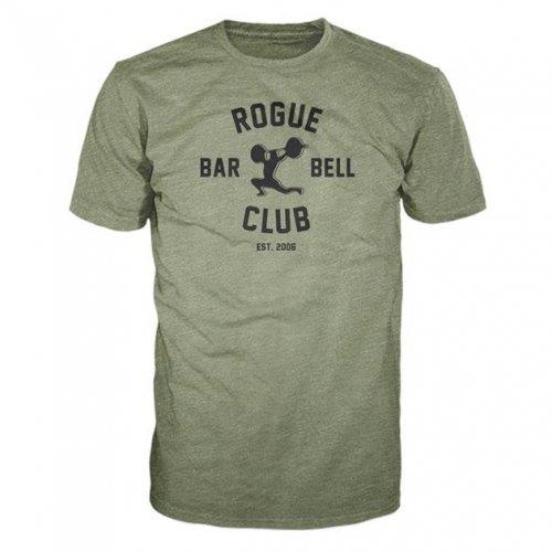 【即お届け】【ROGUE】ROGUE BARBELL CLUB 2.0 SHIRT(Green)