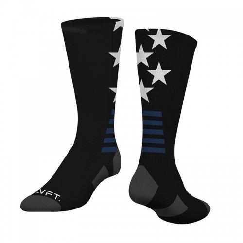 【即お届け】【LIVE FIT】【LVFT】All-Star Crew Socks  (Black)<img class='new_mark_img2' src='https://img.shop-pro.jp/img/new/icons7.gif' style='border:none;display:inline;margin:0px;padding:0px;width:auto;' />