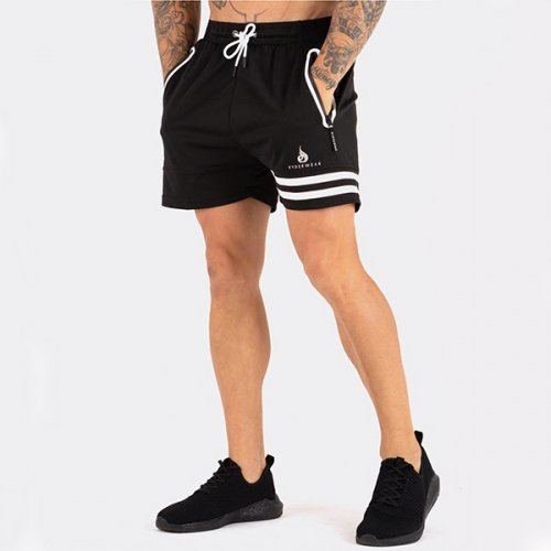 【即お届け】【RYDERWEAR】EVO TRAINING SHORTS(BLACK/WHITE)<img class='new_mark_img2' src='https://img.shop-pro.jp/img/new/icons50.gif' style='border:none;display:inline;margin:0px;padding:0px;width:auto;' />