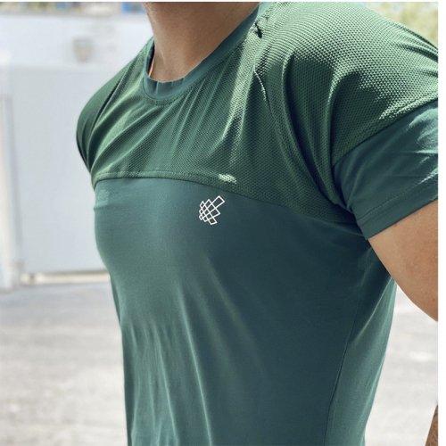 【即お届け】【JED NORTH】Core Mesh T-Shirt (GREEN)<img class='new_mark_img2' src='https://img.shop-pro.jp/img/new/icons7.gif' style='border:none;display:inline;margin:0px;padding:0px;width:auto;' />