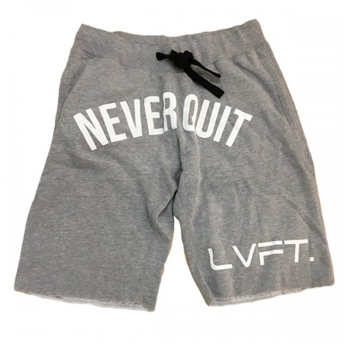 【50%OFF】【LIVE FIT】【LVFT】Never Quit Sweat shorts(Heather Grey)<img class='new_mark_img2' src='https://img.shop-pro.jp/img/new/icons24.gif' style='border:none;display:inline;margin:0px;padding:0px;width:auto;' />