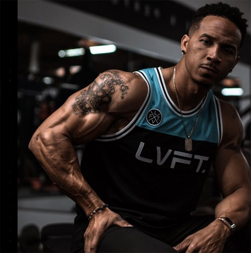 【即お届け】【LIVE FIT】【LVFT】PLAYOFF JERSEY (TEAL)<img class='new_mark_img2' src='https://img.shop-pro.jp/img/new/icons7.gif' style='border:none;display:inline;margin:0px;padding:0px;width:auto;' />