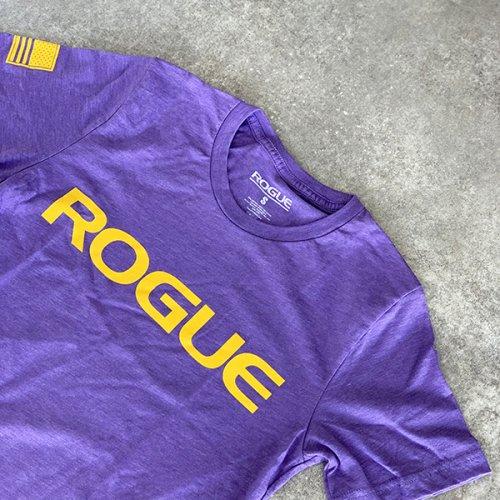 【即お届け】【ROGUE】ROGUE BASIC SHIRT(Purple/Yellow)<img class='new_mark_img2' src='https://img.shop-pro.jp/img/new/icons7.gif' style='border:none;display:inline;margin:0px;padding:0px;width:auto;' />