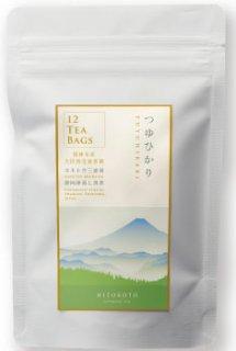 カネトウ三浦園稀少品種茶ティーバッグ つゆひかり 3g×12個