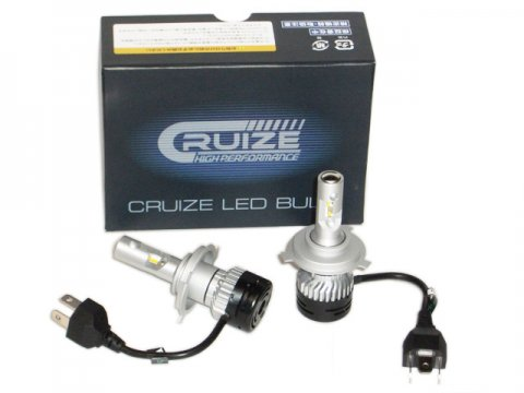 CRUIZE LED H4 Hi/Lo 昼白色(5000K)