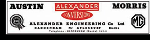 ウィンドウ ステッカー 裏貼り Alexander Conversions