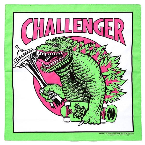 CHALLNGER/チャレンジャー/BANDANA LYZE SEATTLE BANDANNA