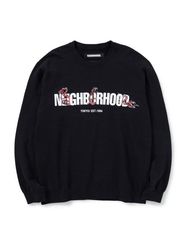 NEIGHBORHOOD SLUB / C-CREW . LS