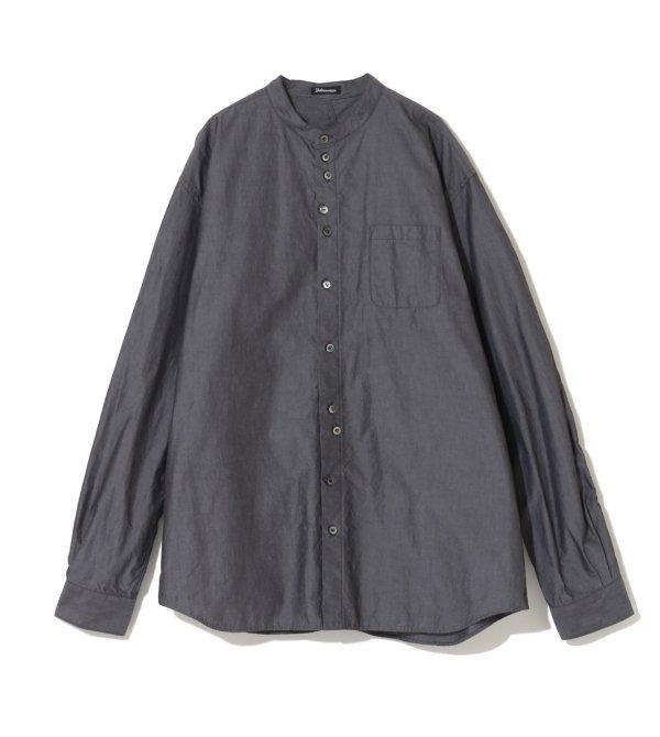 Undercover ism/アンダーカバーイズム/ユガミパッカリング立衿シャツ