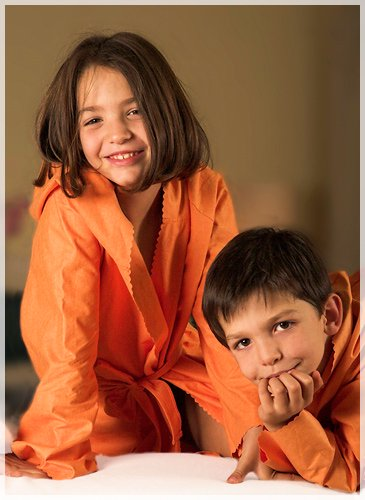 スカラップ【6〜8歳】オレンジ (823)